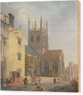 Merton College - Oxford Wood Print
