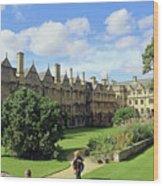Merton Gardens Wood Print