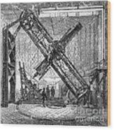 Merz Telescope, Royal Observatory Wood Print