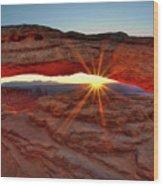 Mesa Arch 1 Wood Print