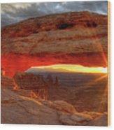 Mesa Arch 6 Wood Print