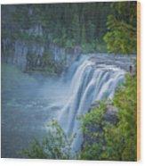 Mesa Falls - Yellowstone Wood Print