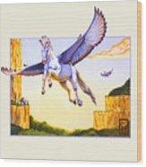 Mesa Pegasus Wood Print