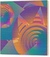 Mescalito Wood Print