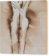 Mesh II  His Divine Love Series No. 1285 Wood Print