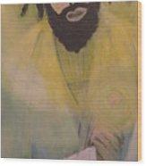 Mesiah Wood Print