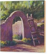Mesilla Archway Wood Print