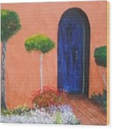 Mesilla Door Wood Print