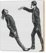Mesmerism, 19th Century Wood Print