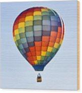 Mesquite Balloon Festival In Mesquite Nevada Wood Print