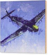 Messerschmitt Bf 109 Wood Print