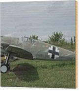Messerschmitt Bf109 - 2 Wood Print