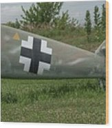 Messerschmitt Bf109 - 3 Wood Print