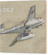 Messerschmitt Me-262 Wood Print