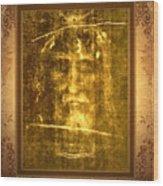 Messiah Manifested Wood Print by Anastasia Savage Ealy