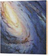 Messier 66 Wood Print