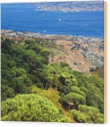 Messina Strait - Italy Wood Print