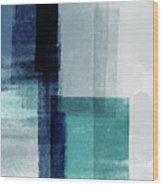 Mestro 5- Art By Linda Woods Wood Print
