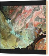 Metal Detail 3 Wood Print
