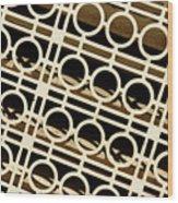 Metal Pattern Wood Print