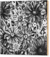 Metal Petals Wood Print