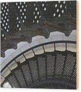 Metal Stair Case Wood Print