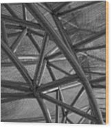 Metal  Structure Wood Print