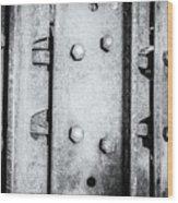Metal Tank Scale Of Unity Wood Print
