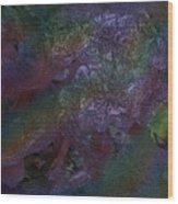 Metallic Color Wood Print by J P Lambert