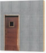 Metallic Contrasts Wood Print