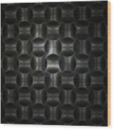 Metallic Weave Wood Print by David April