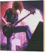 Metallica 1986 Cliff Burton Wood Print
