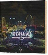 Metallica In Stl Wood Print