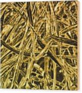 Metallurgy Wood Print