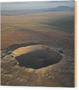 Meteor Crater Is The Best Preserved Wood Print by Stephen Alvarez