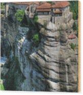 Meteora Wood Print