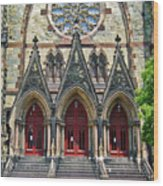 Methodist Church - Baltimore Wood Print