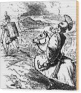 Metius Aggravating Titus Manlius Wood Print