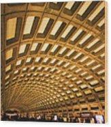 Metro Station Wood Print