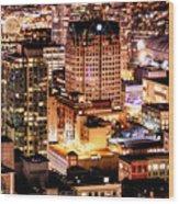 Metropolis Vancouver Mdccxv  Wood Print