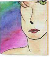 Metrosexual Wood Print
