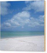Mexican Beach Wood Print