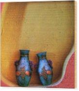 Mexican Decor Wood Print