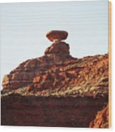 Mexican Hat, Utah Wood Print