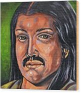 Mexican Man Wood Print
