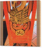 Mexican Swan Wood Print