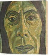 Mexican Woman Wood Print