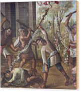 Mexico: Christian Martyrs Wood Print