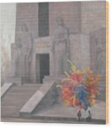 Mexico City Monument Wood Print