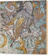 Mexico: Ixmiquilpan Fresco Wood Print
